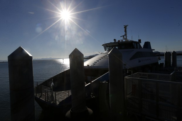 0759d EBT L RICHFERRY 0107 2 Richmond ferry to SF begins Thursday, ushering new era for water travel in the Bay Area