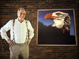 3dba1 ows 149756458024469 San Francisco real estate mogul lands in Wabasha with colossal eagle art collection