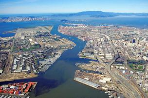 43f93 port of oakland aerial%2A304 How other tech hubs compare to San Francisco