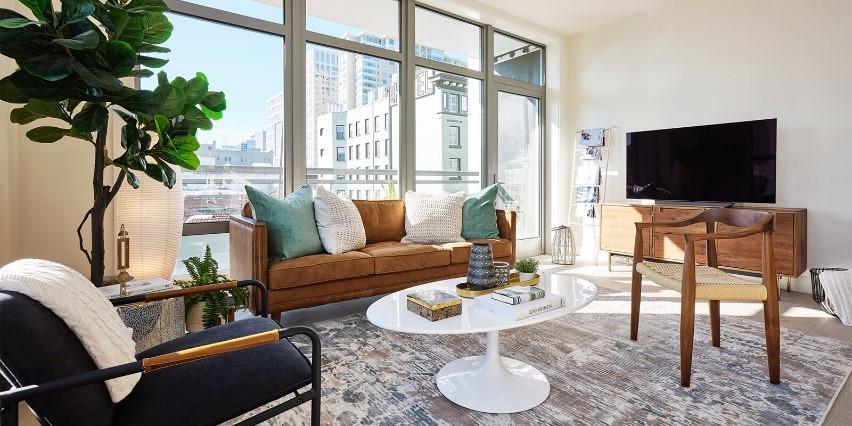 5ad3e OneElevenLivingRoom San Francisco Bay Area condo market showing signs of rebound