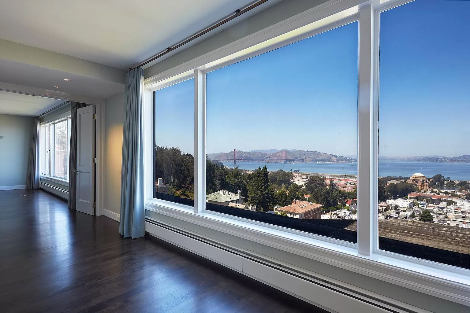 61d8f 2920 broadway living view Seven Bedroom Pac Heights Mansion Sets New Record for Most Expensive Home Sold In SF at $43.5M