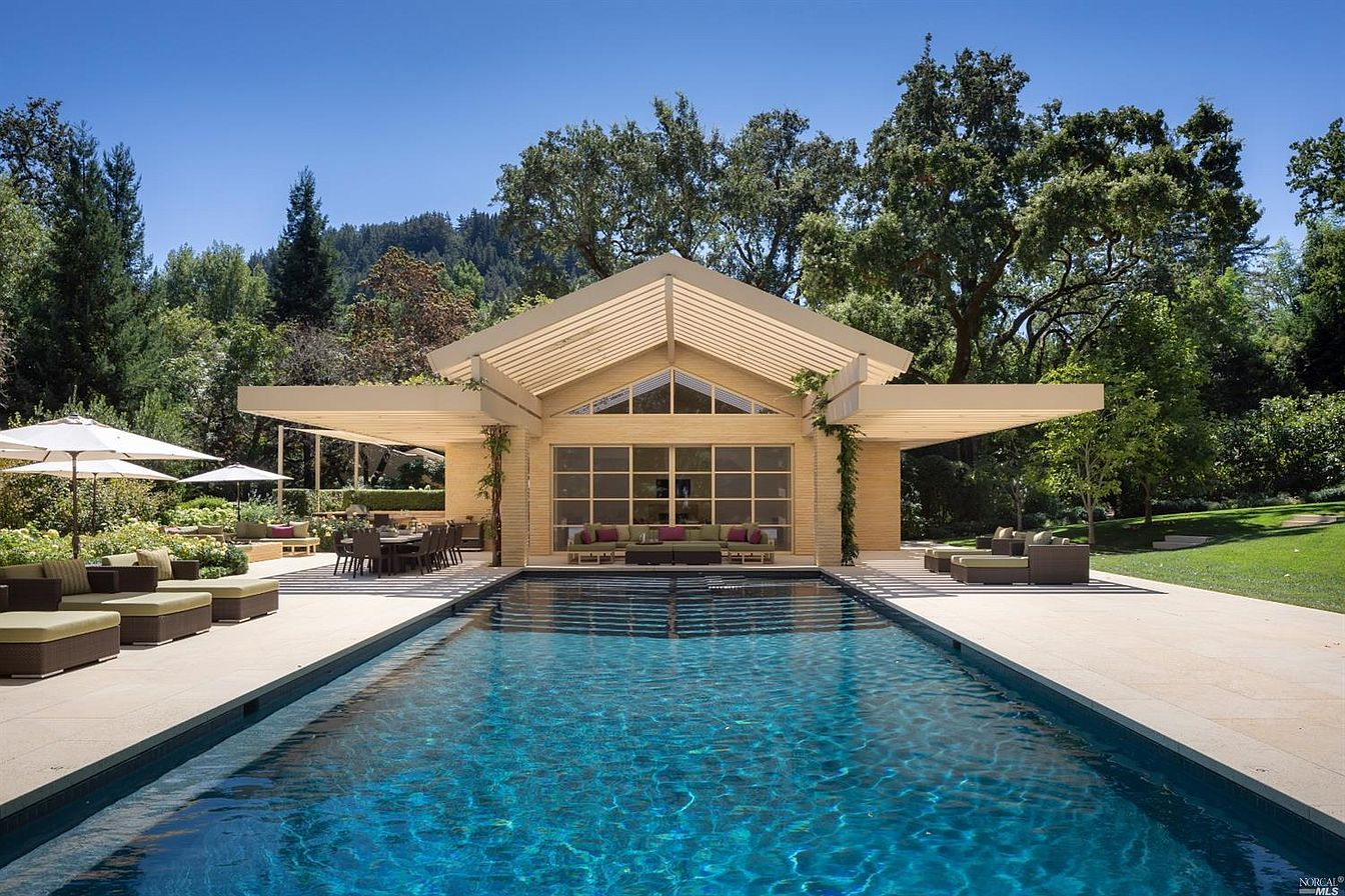 96956 pool 85m 5 Bay Area Real Estate Listings With Progressively More Extravagant Pools