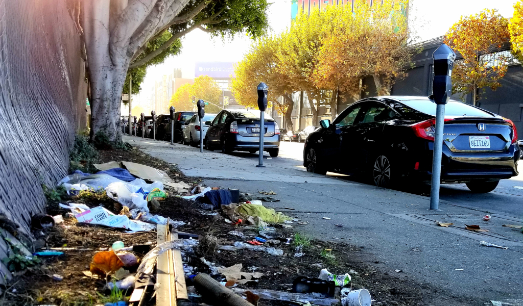 b4ac1 Harrison Street SOMA SF Nov 24 2020 Feces Complaints in San Francisco Drop to Lowest Level in 3 Years Amid Pandemic