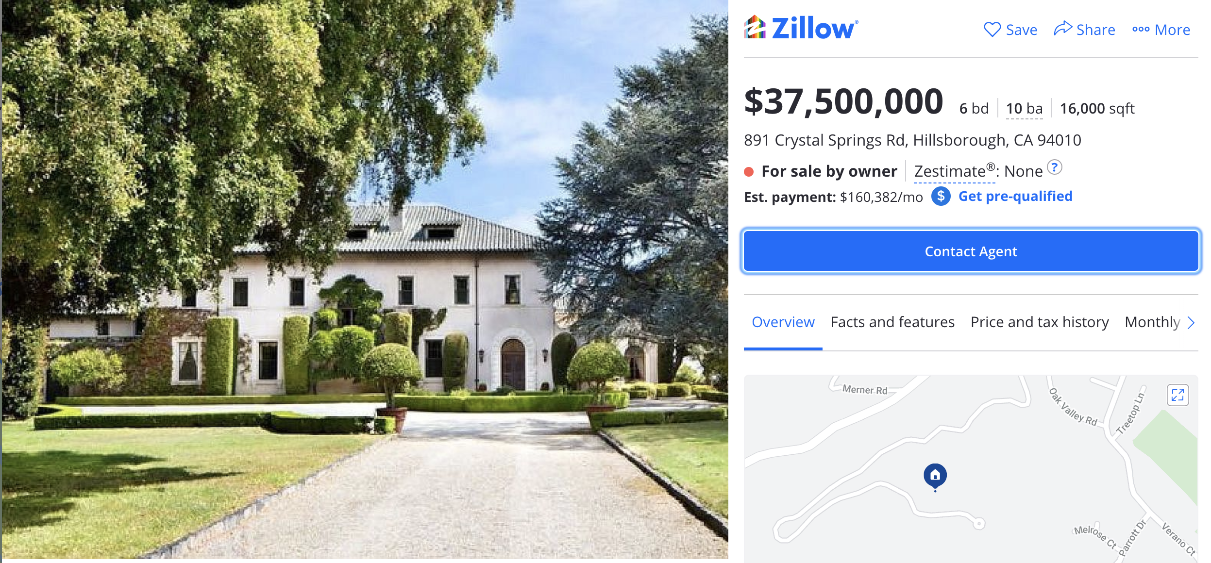 Elon Musks last remaining home, a 47 acre Bay Area estate, hits the market for $37.5 million