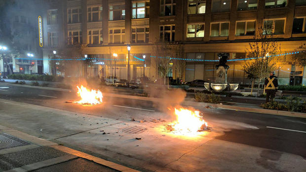 cbd11 Cwztjc7VIAANd5  Not Our President: Protests Erupt Across the Bay Area After Trumps Stunning Presidential Victory
