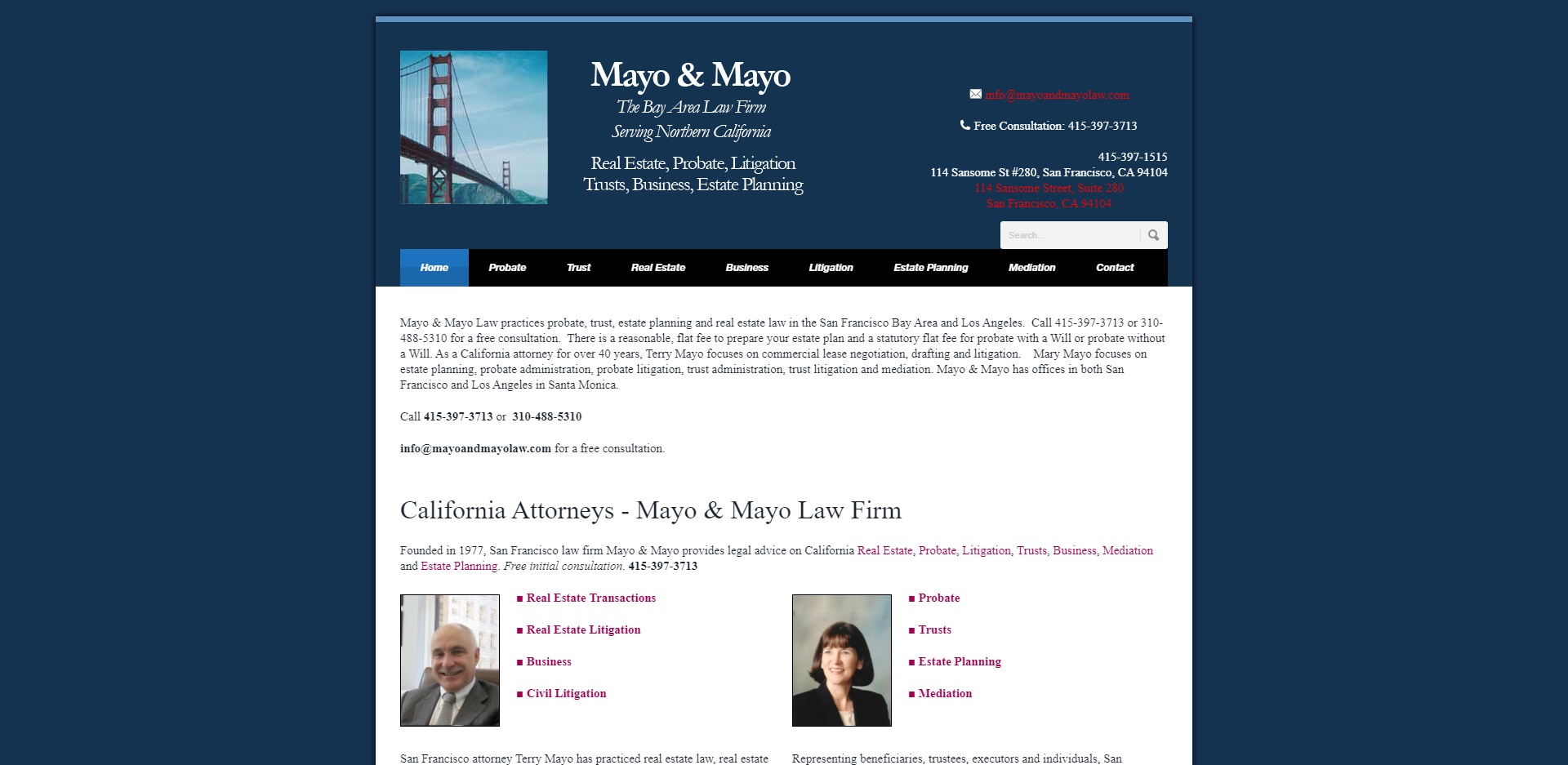 d9c6d mayo 5 Best Real Estate Attorneys in San Francisco