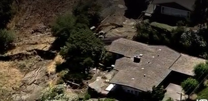 Bay Area House On a Collapsing Hillside On Sale For $850000