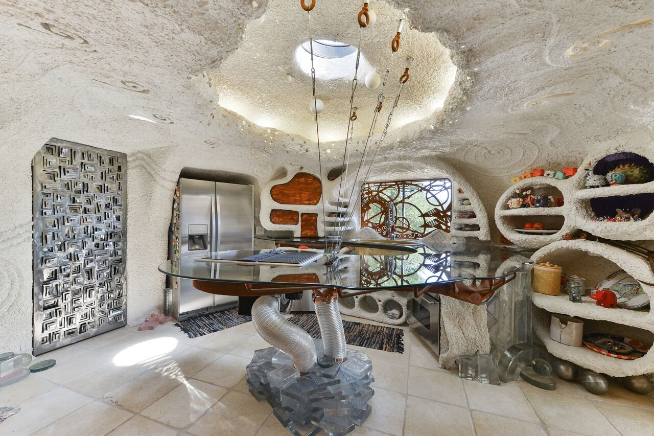 e5cd6 45%2520berryessa%2520way kitchen This insane Flintstones House is on sale for $4.2 million in California