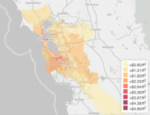 f085d kwelia apartment rents 300x231 A Map of the Cheapest Places to Rent in the Bay Area
