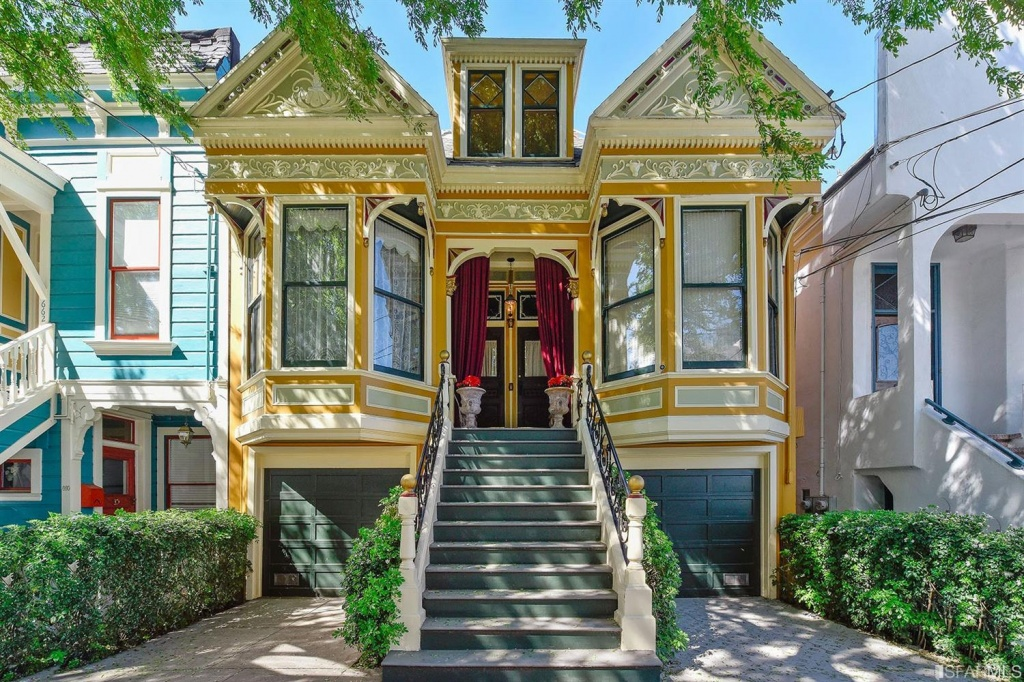 f7520 a Ornate, preserved Victorian triplex, circa 1900, hits the market at $2.9M