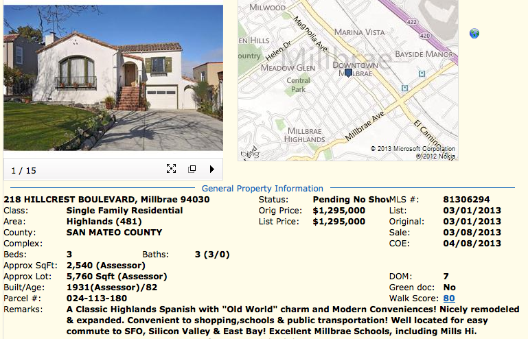 Screen shot 2013 04 10 at 5.48.26 PM Homes for Sale in Millbrae